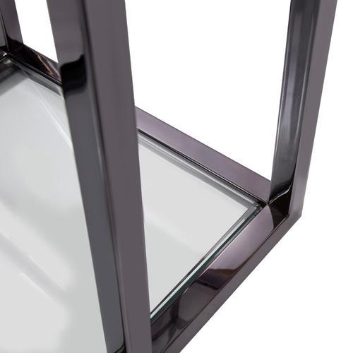 Howard Elliott - Black Nickel Stainless Steel Etagere