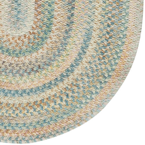 Synergy Blue Opal Braided Rugs
