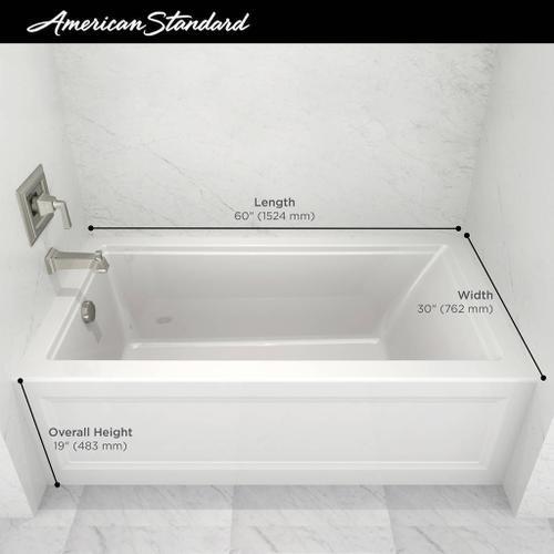 American Standard - Town Square S 60x30-inch Bathtub  American Standard - White