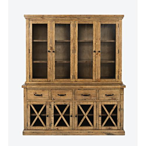 Telluride Hutch W/touch Light