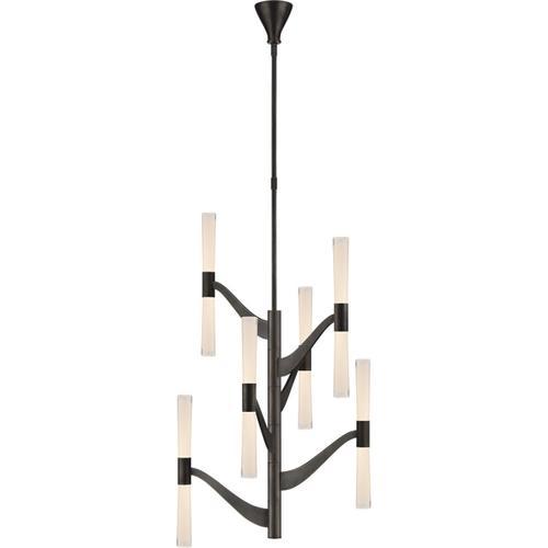 Visual Comfort - AERIN Brenta LED 26 inch Bronze Chandelier Ceiling Light, Medium Tall