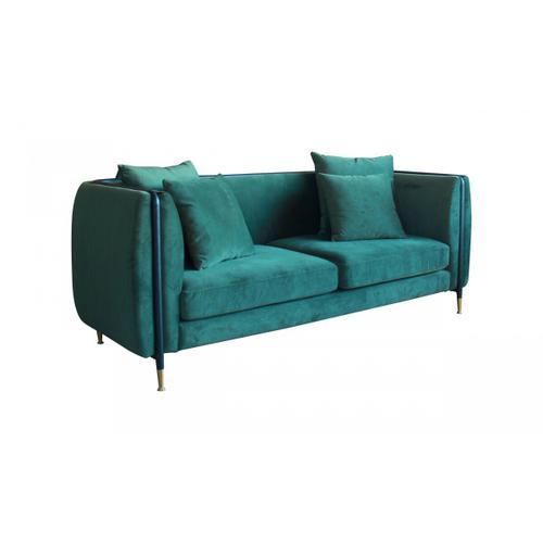 VIG Furniture - Divani Casa Oswego - Modern Dark Green Jade Sofa