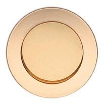 Modern Cup Pull in US3 (Polished Brass, Lacquered)