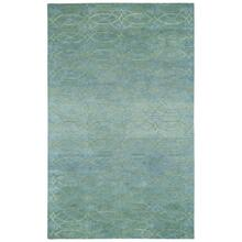 Ramblas Silver Blue - Rectangle - 5' x 8'