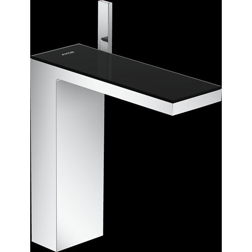 AXOR - Chrome / Black Glass Single-Hole Faucet 230, 1.2 GPM