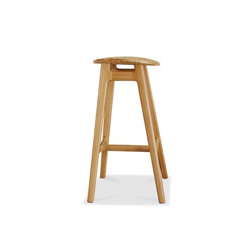 Greenington Fine Bamboo Furniture - Skol Bar Height Stool, Caramelized, (Set of 2)