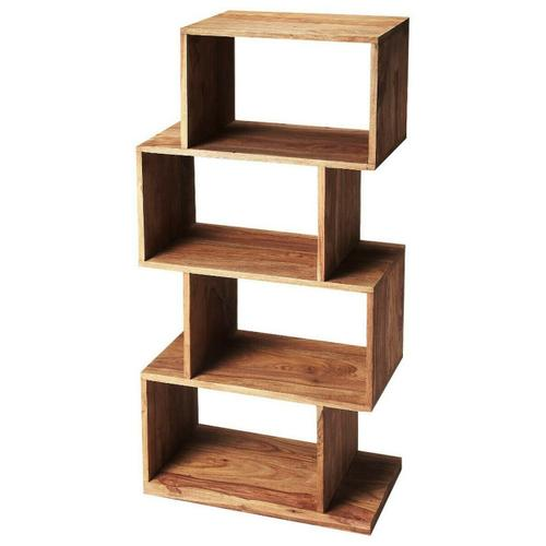 Butler Specialty Company - The ultra-modern Stockholm etagere will add style to your home. Its four boxes can be used to display family photos, collectables and trinkets on the many shelf spaces offered by this unique book case.