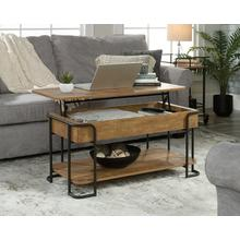 Industrial Metal & Wood Lift-top Coffee Table