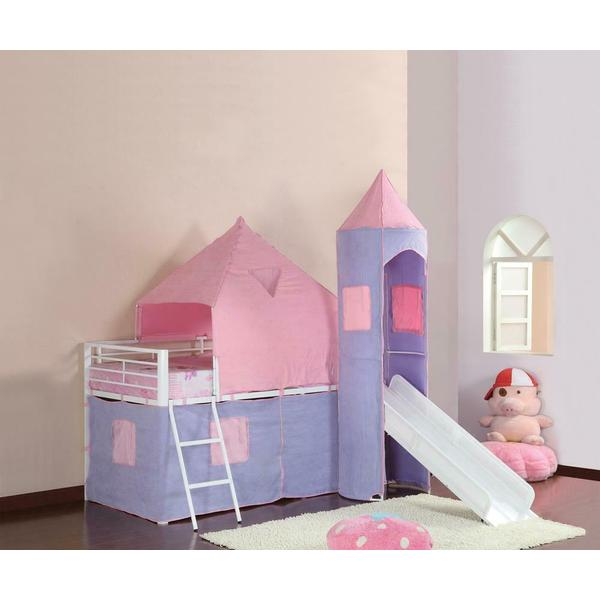 See Details - Twin Tent Loft Bed