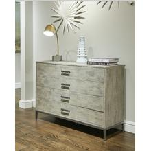 Cameron Single Dresser - Raw Silk