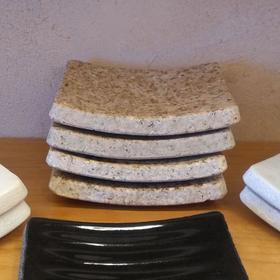 Soap Dish Beige Granite