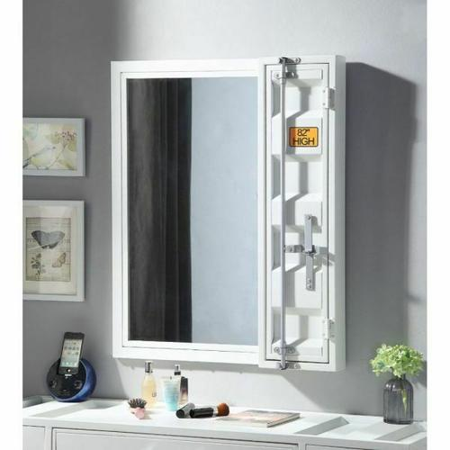 ACME Cargo Vanity Mirror - 35908 - White