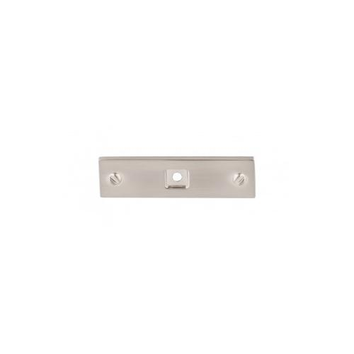 Channing Backplate 3 Inch - Brushed Satin Nickel