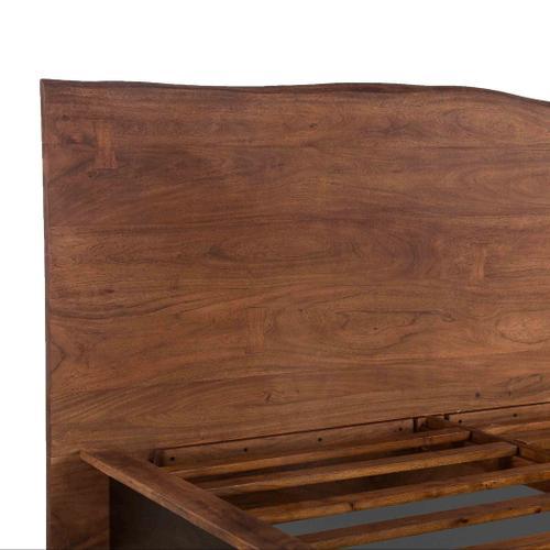 San Marino Queen Bed Raw Walnut