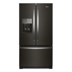 Whirlpool36-inch Wide French Door Refrigerator in Fingerprint-Resistant Stainless Steel - 25 cu. ft.