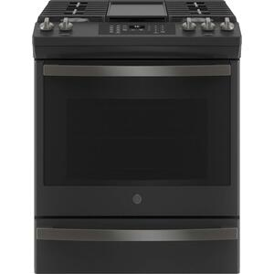 "GEGE® 30"" Slide-In Front-Control Convection Gas Range with No Preheat Air Fry"