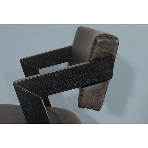 Gallery - Snyder Non Swivel Counter Height Stool - Blackwash