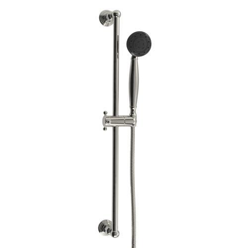 Santec - Multifunction Hand Shower With Slide Bar in Polished Chrome
