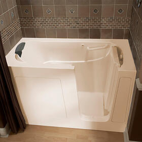 Premium Series 30x60 Walk-in Bathtub, Right Drain  American Standard - Linen