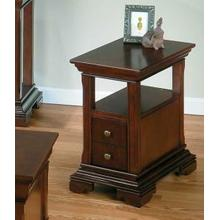 View Product - Chairside Table W/ Shelf and Drawer