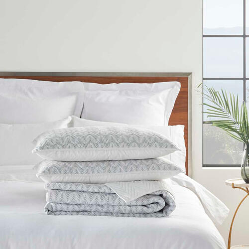 Dreamscape Dsq01 Grey King 3-piece Bed Set