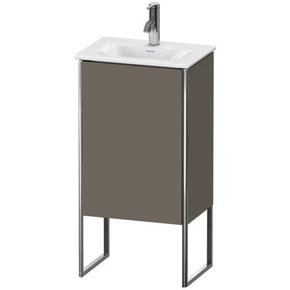 Vanity Unit Floorstanding, Flannel Gray Satin Matte (lacquer)