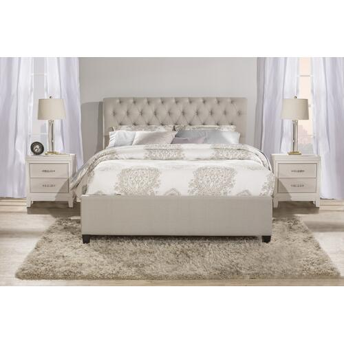 Napleton King Bed - Dove Gray
