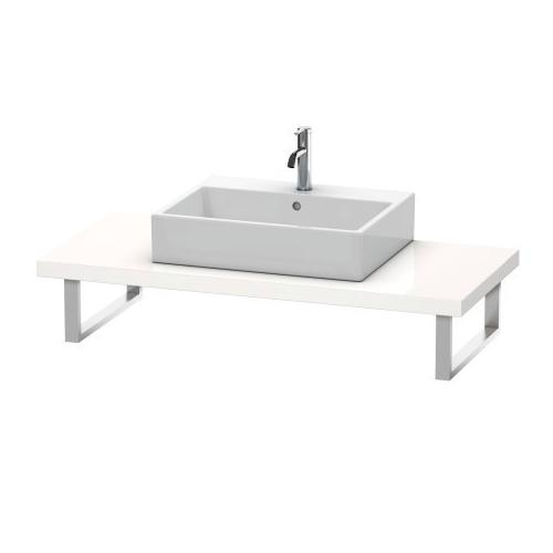 Product Image - Console For Above-counter Basin And Vanity Basin, White High Gloss (decor)