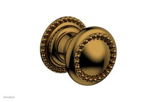 BEADED Cabinet Knob 207-90 - French Brass Product Image