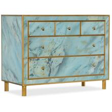 Living Room Melange Sorrell Five-Drawer Chest