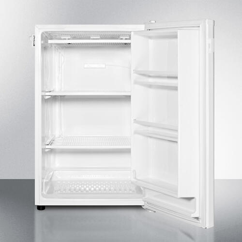 Slim Counter Height Manual Defrost All-freezer With 5 CU.FT. Capacity and Side-mounted Lock; Replaces Fs60ml