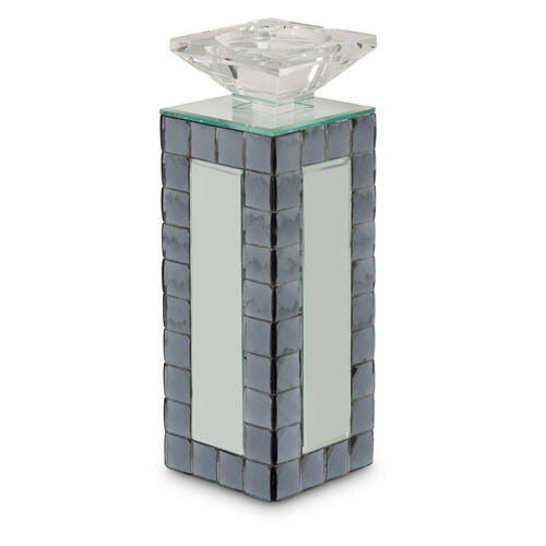 Mirrored Candle Holder Medium (6/pack) 152m