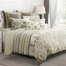 8pc King Duvet Set Dove