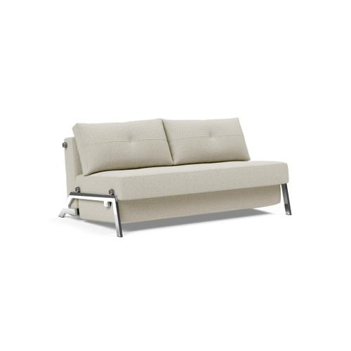 "CUBED 02 DELUXE 63""X79"", FRONT/MID SEAT/CUBED 02 DELUXE SOFA BACK, 63""X79""/CUBED LEGS, CHROME"