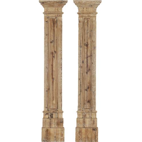 Rustic Columns S/2