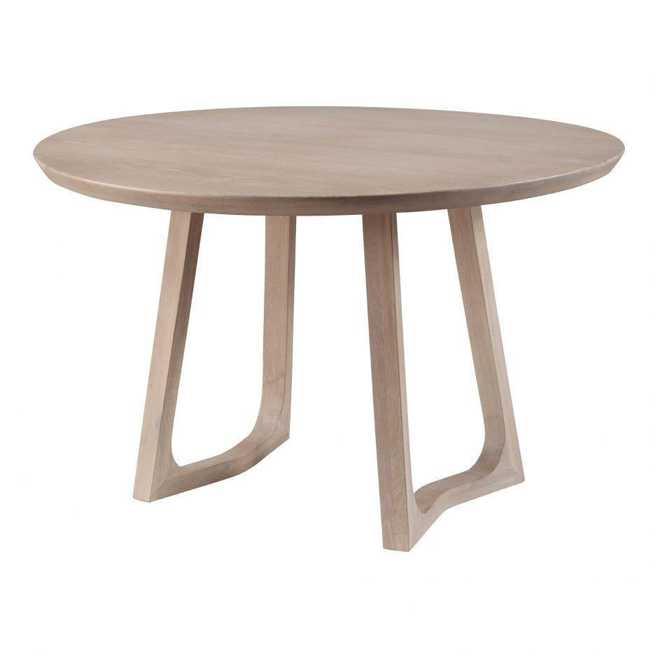 Silas Round Dining Table Oak