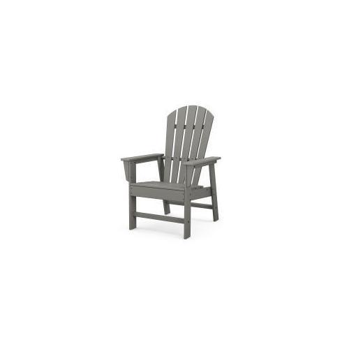 Polywood Furnishings - South Beach Casual Chair in Slate Grey