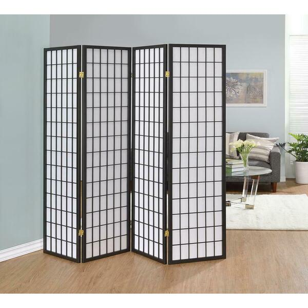 See Details - 4 Panel Folding Screen