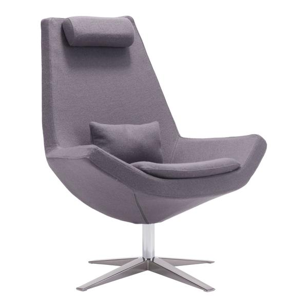 See Details - Bruges Occasional Chair Charcoal Gray