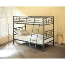 Contemporary Metal Bunk Bed