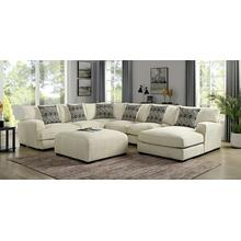 See Details - Kaylee U-shaped Sectional (right Chaise)