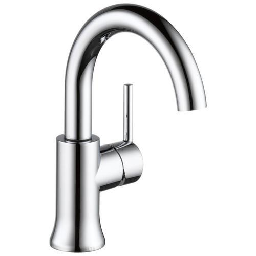 Chrome Single Handle High-Arc Bathroom Faucet