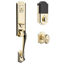 Lifetime Polished Brass Evolved Bethpage Knob Handleset
