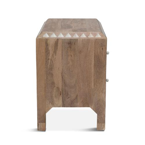 """Tangiers 26"""" Night Chest Natural White"""