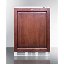 Built-in Medical All-freezer With Lock, Capable of -25 C Operation; Door Accepts Custom Overlay Panels