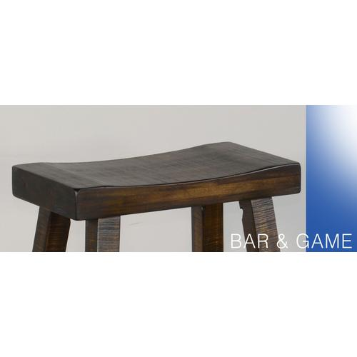 "30""H Saddle Seat Stool"