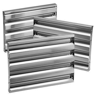 """Broan - Optional Baffle Filter Kit for 45"""" Pro-Style Insert, in Stainless Steel"""