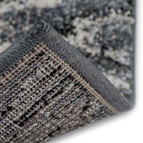 "Capel Rugs - Mineral-Flamestitch Blue Slate - Rectangle - 3'11"" x 5'6"""