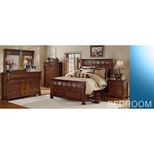 Santa Fe Eastern King Bed w/ Storage