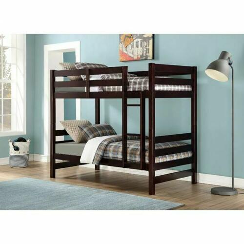 ACME Ronnie Bunk Bed (Twin/Twin) - 37775 - Espresso